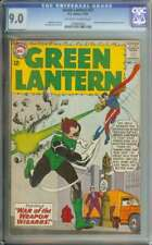 GREEN LANTERN #25 CGC 9.0 OW/WH PAGES