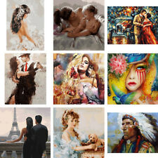 DIY Couples Women People Paint By Numbers Kit Digital Oil Painting Art Home Wall