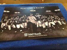 "Baltimore ravens "" Play like a Ravens poster """