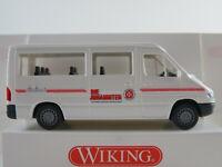 """Wiking 27802 Mercedes-Benz Sprinter (2000) """"JUH/RV Rheinhessen"""" 1:87/H0 NEU/OVP"""