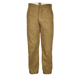 WW1 1902 British Service Dress SD Trousers Reproduction Medium 34 inches Y232