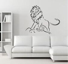 Löwe Löwen Wandtattoo Wallpaper Wand Schmuck 49 x 58 cm Wandbild