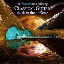 NEW The Ultimate Most Relaxing Guitar Music In The Universe [2 CD] (Audio CD)