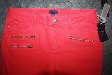 NYDJ Not Your Daughter Jeans Long Super Skinny Hibiscus Pink Size 18 Long