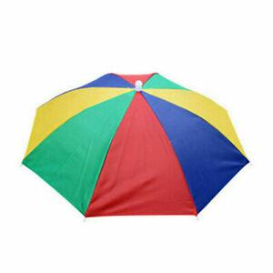 Camo Kopfschirm Hüte Faltbare Regenbogen Sonnenschirm Herren Damen Regenschirm