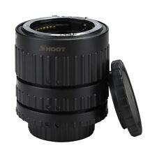 SHOOT Auto Focus AF Macro Extension Tube Set for Nikon D-SLR AF AF-S DX D33 M3N7