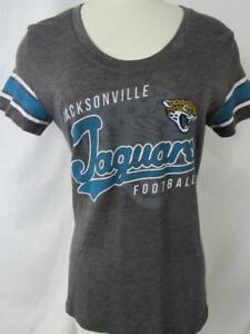Jacksonville Jaguars Women S - XL Short Sleeve Screened Football Tee AJJS 117