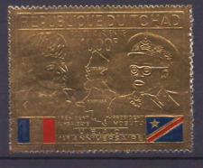 DU TCHAD 270 MnH met bladgoud; with gold leaf; mit Blattgold  0867