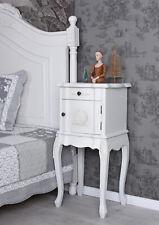 Nachttisch Antik Nachtkonsole Weiss Schrank Rokoko Nachtkommode Nachtschrank