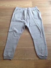 Men's Grey Size Large Drop Crotch Primark Joggers