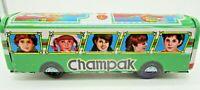 Tin Litho Friction Toy Train Manohar MTI Champak India Vintage