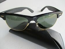 Ray Ban Wayfarer Max Sunglasses Bausch and Lomb Usa Black and gold