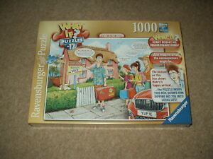"""RAVENSBURGER 1000 PIECE JIGSAW - """"ESCAPE TO THE SEASIDE"""" - DONE ONCE FROM NEW!!!"""