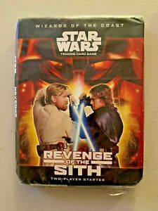 STAR WARS TRADING CARD GAME: REVENGE OF THE SITH, WoTC, '05! SKYWALKER! UNPLAYED