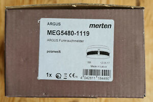 Merten Rauchmelder Funkrauchmelder Argus MEG5480-1119 Polarweiß - Neu und OVP