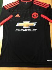 adidas manchester united Black Orange Kit Retro Classic 15/16 Size XXL   Only