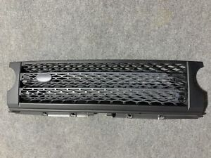 Fit 05-09 Land Rover LR3 Discovery 3 Black/grey Honeycomb Mesh Front Hood Grille