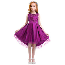 Flower Girl Dress Beading For Wedding Junior Trailing Gown Party Prom Dresses