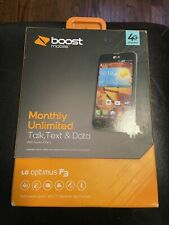 New listing Lg Optimus F3 Android smartphone for Boost Mobile Sealed Box New