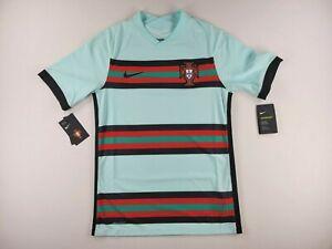 Nike Portugal 2020 Vaporknit Match Away Soccer Jersey CD0600-336 Size Small $165