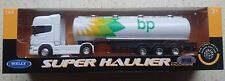 WELLY SCANIA V8 R730 BP TANK TRAILER 1:64 DIE CAST METAL MODEL NEW 24cm LONG
