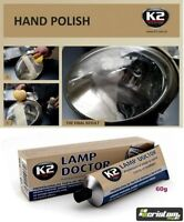 K2 LAMP DOCTOR Paste Headlight Scratch Restorer Repair Polish & Protects restore