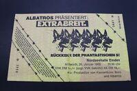 Altes Konzertticket - Extrabreit - Nordseehalle Emden - 26.1.1983
