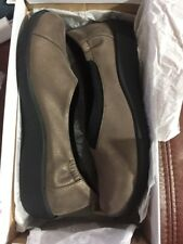 New Women's Clarks CLOUDSTEPPERS Sullivan Jetay Pewter Synthetic Size 8.5