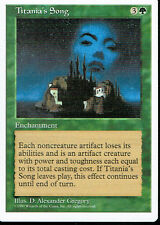 MAGIC THE GATHERING 5TH EDITION GREEN TITANIA'S SONG