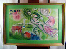 Marc Chagall 'ROMEO & JULIET' Original Lithograph Art Print Poster Pencil Signed