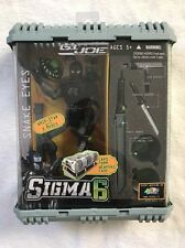 "NEW! GI Joe Sigma 6 Six Codename: Snake Eyes Ninja Commando 8 "" Whip Star"