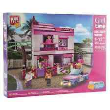 Block Tech Girl Time Party Mansion Construction Brick Toy