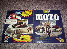 ALBUM figurine MOTO EDIRAF SUPER RAF 197? COMPLETO MOLTO BUONO NO PANINI EDIS