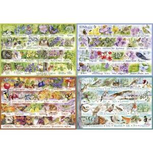Gibsons 2000 Piece Jigsaw Puzzle - Woodland Seasons by Val Goldfinch G8014 - NEW