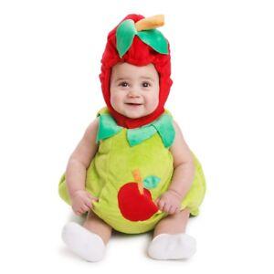 Dress Up America Unisex Toddlers Sugar Sweet Baby Apple Costume