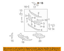 TOYOTA OEM Radiator Core Support-Upper Seal Clip 9046708217