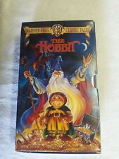 Warner Brothers 2 VHS Set - The Hobbit and Return of The King