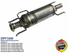 Diesel Particulate Filter with CAT for ALFA ROMEO 159 1.9 Brera 2.4 Spider 2.4