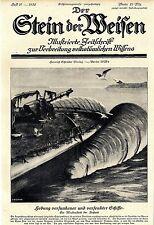 Hebung versunkener u.versenkter Schiffe (Aufsatz) Meisterstück der Technik 1924