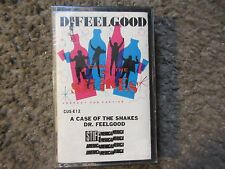 """DR.FEELGOOD """"A CASE OF THE SHAKES"""" 1980 STIFF AMERICA STILL SEALED RARE OOP TAPE"""