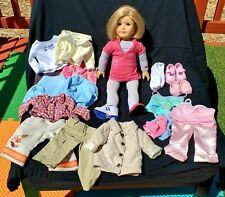 Retired American Girl Doll - Kit Kittredge 2008 Short Blonde Star Hoodie Outfit