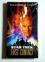 Star Trek: First Contact VHS 1997 Brand New Factory Sealed Free Shipping