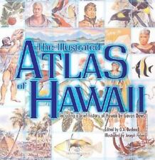 The Illustrated Atlas of Hawaii: An Island Heritage Book with a-ExLibrary