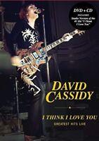 DAVID CASSIDY I THINK I LOVE YOU Greatest Hits Live CD/ DVD ALL REGION NTSC NEW