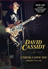 DAVID CASSIDY I THINK I LOVE YOU Greatest Hits Live CD/ DVD ALL REGION NTSC NEW