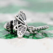 Authentic Pandora Sparkling Queen Bee 398840C01 Sterling Silver Charm