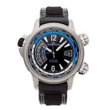 Jaeger-LeCoultre Master Compressor World LE Auto Titanium Mens Watch Q177847T
