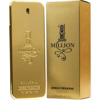 ONE MILLION 200ml EDT SPRAY BY PACO RABANNE ******** MEN EAU DE TOILETTE PERFUME