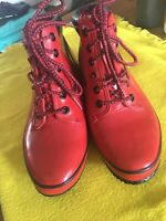 Women's SPORTO Insulated Thermolite Waterproof Rubber Duck Boot-RED 9 (1B)