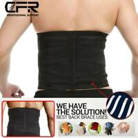 Lower Back Pain Relief Lumbar Support Herniated Disc Sciatica Brace Posture Belt